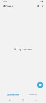 Envía fotos, videos y audio por mensaje de texto - Samsung Galaxy A80 - Passo 3
