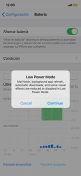 Modo de ahorro de batería - Apple iPhone XS - Passo 4