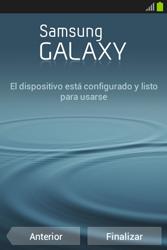 Activa el equipo - Samsung Galaxy Fame Lite - S6790 - Passo 17