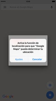 Uso de la navegación GPS - Apple iPhone 6 Plus - Passo 6