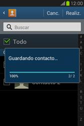 ¿Tu equipo puede copiar contactos a la SIM card? - Samsung Galaxy Fame GT - S6810 - Passo 10