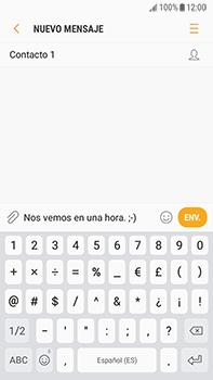 Envía fotos, videos y audio por mensaje de texto - Samsung Galaxy J7 Prime - Passo 8