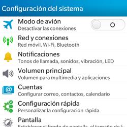 Configura el WiFi - BlackBerry Q5 - Passo 4