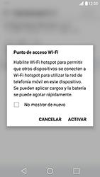 Configura el hotspot móvil - LG X Cam - Passo 9