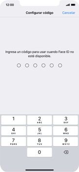 Cómo configurar el Face ID - Apple iPhone XR - Passo 10