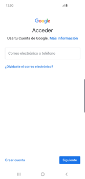 Crea una cuenta - Samsung S10+ - Passo 4