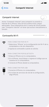 Configura el hotspot móvil - Apple iPhone XS Max - Passo 4