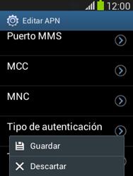 Configura el Internet - Samsung Galaxy Pocket Neo - S5310L - Passo 17