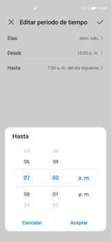 Cómo configurar el modo no molestar - Huawei P40 - Passo 11