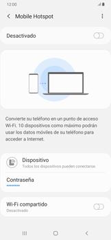 Configura el hotspot móvil - Samsung Galaxy A30 - Passo 7