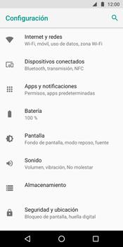 Configura el Internet - Motorola Moto G6 Plus - Passo 4