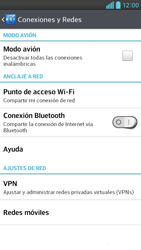 Desactiva tu conexión de datos - LG Optimus G Pro Lite - Passo 4