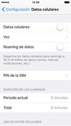 Desactiva tu conexión de datos - Apple iPhone 5 - Passo 4