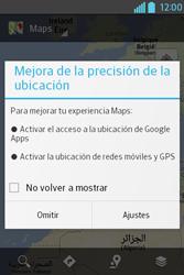 Uso de la navegación GPS - LG L4 II - Passo 4