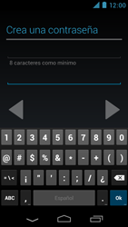Crea una cuenta - Motorola RAZR D3 XT919 - Passo 10