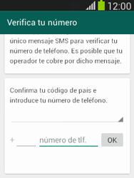 Configuración de Whatsapp - Samsung Galaxy Pocket Neo - S5310L - Passo 5