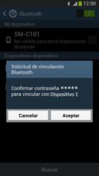 Conecta con otro dispositivo Bluetooth - Samsung Galaxy Zoom S4 - C105 - Passo 7