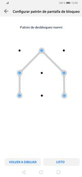 Desbloqueo del equipo por medio del patrón - Huawei P30 - Passo 10