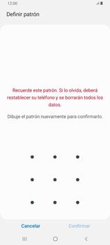 Desbloqueo del equipo por medio del patrón - Samsung Galaxy A80 - Passo 9