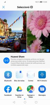 Transferir fotos vía Bluetooth - Huawei Y7 2019 - Passo 9