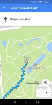 Uso de la navegación GPS - Huawei Mate 10 Lite - Passo 17