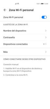 Configura el hotspot móvil - Huawei P40 - Passo 10