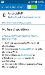 Configura el hotspot móvil - Samsung Galaxy Core Prime - G360 - Passo 11