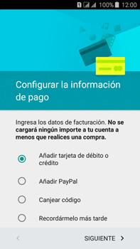 Crea una cuenta - Samsung Galaxy J7 - J700 - Passo 17