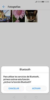Transferir fotos vía Bluetooth - Huawei Mate 10 Pro - Passo 10