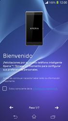 Activa el equipo - Sony Xperia M2 Aqua D2303 - Passo 5