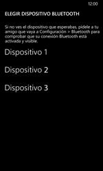 Transferir fotos vía Bluetooth - Nokia Lumia 635 - Passo 11