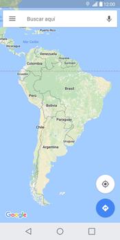 Uso de la navegación GPS - LG G6 - Passo 7