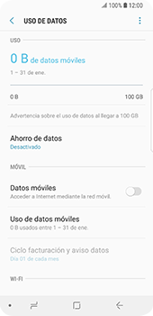 Desactiva tu conexión de datos - Samsung Galaxy S9 - Passo 7