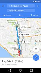 Uso de la navegación GPS - LG K10 - Passo 17