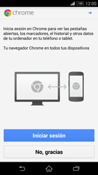 Configura el Internet - Sony Xperia Z3 D6603 - Passo 20