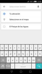 Uso de la navegación GPS - Huawei P8 - Passo 12