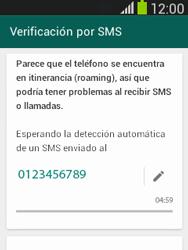 Configuración de Whatsapp - Samsung Galaxy Pocket Neo - S5310L - Passo 7