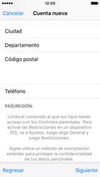 Crea una cuenta - Apple iPhone SE - Passo 22