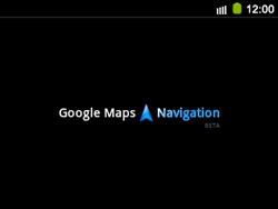 Uso de la navegación GPS - Samsung Galaxy Y Pro GT - B5510 - Passo 20
