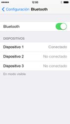 Conecta con otro dispositivo Bluetooth - Apple iPhone 5c - Passo 7