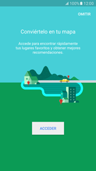Uso de la navegación GPS - Samsung Galaxy S7 - G930 - Passo 5
