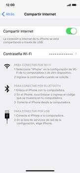 Comparte la conexión de datos con una PC - Apple iPhone X - Passo 6