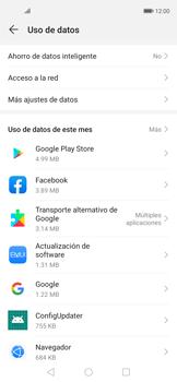 Verificar el uso de datos por apps - Huawei Nova 5T - Passo 4