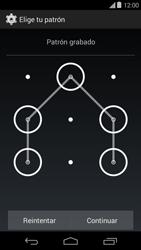 Desbloqueo del equipo por medio del patrón - Motorola Moto E (1st Gen) (Kitkat) - Passo 8