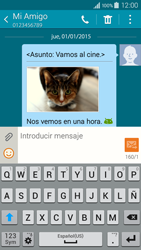 Envía fotos, videos y audio por mensaje de texto - Samsung Galaxy A3 - A300M - Passo 23