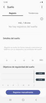 Cómo funciona el Samsung Health - Samsung Galaxy S20 - Passo 19