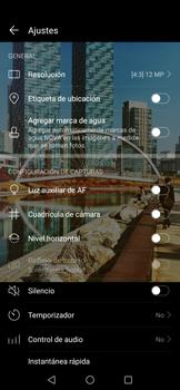 Modo profesional - Huawei Nova 5T - Passo 8
