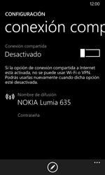 Configura el hotspot móvil - Nokia Lumia 635 - Passo 5