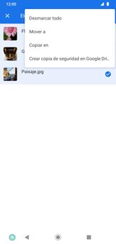 Transferir datos desde tu dispositivo a la tarjeta SD - Motorola Moto G8 Plus (Dual SIM) - Passo 8