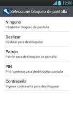 Desbloqueo del equipo por medio del patrón - LG Optimus L7 - Passo 6